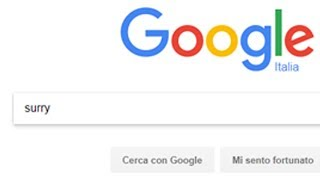 CERCO SURRY SU GOOGLE