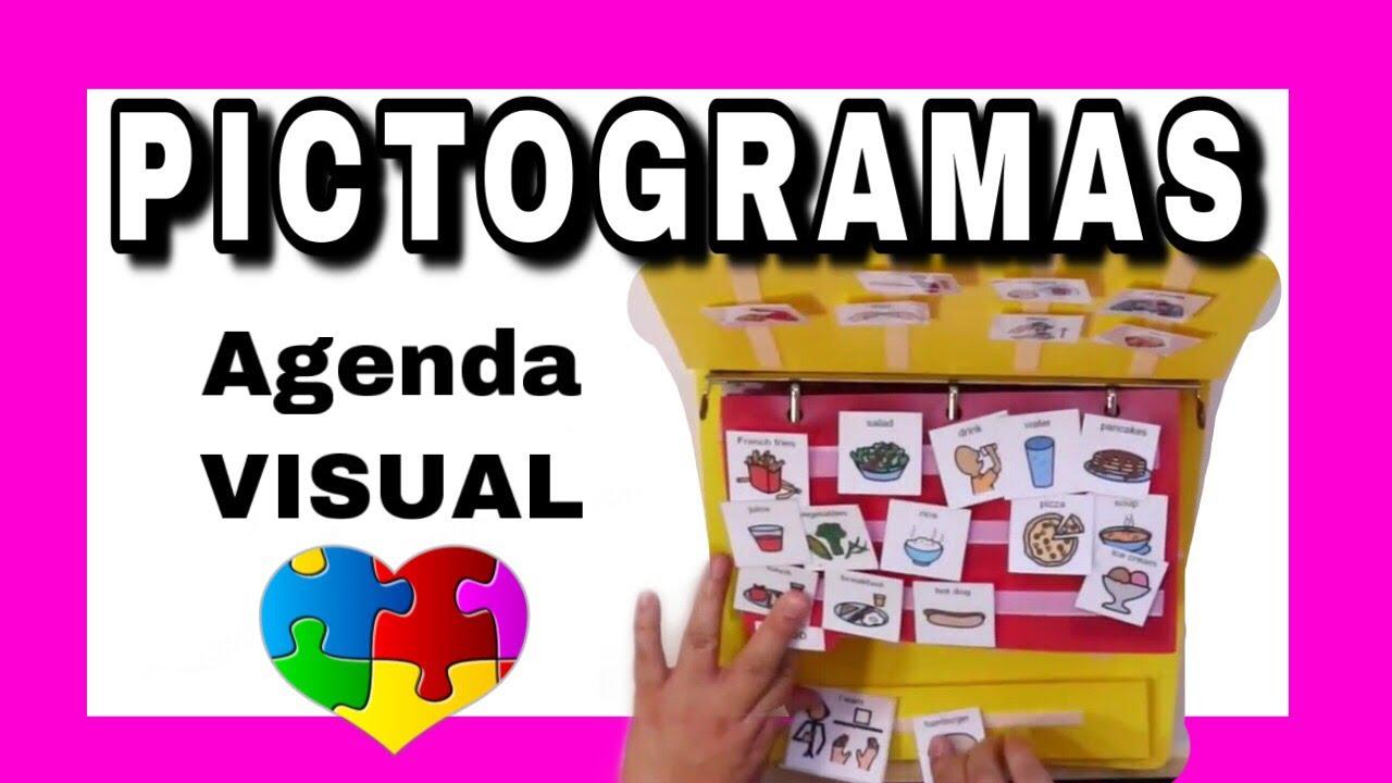 De Comunicación Agenda Libro Con Pictogramas Para Visual Niños thQdCsrx