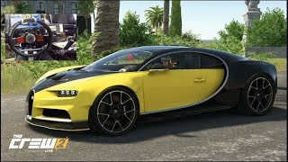 The Crew 2 GoPro- 1000 Icon Level Bugatti Chiron REALLY That Fast?? | SLAPTrain
