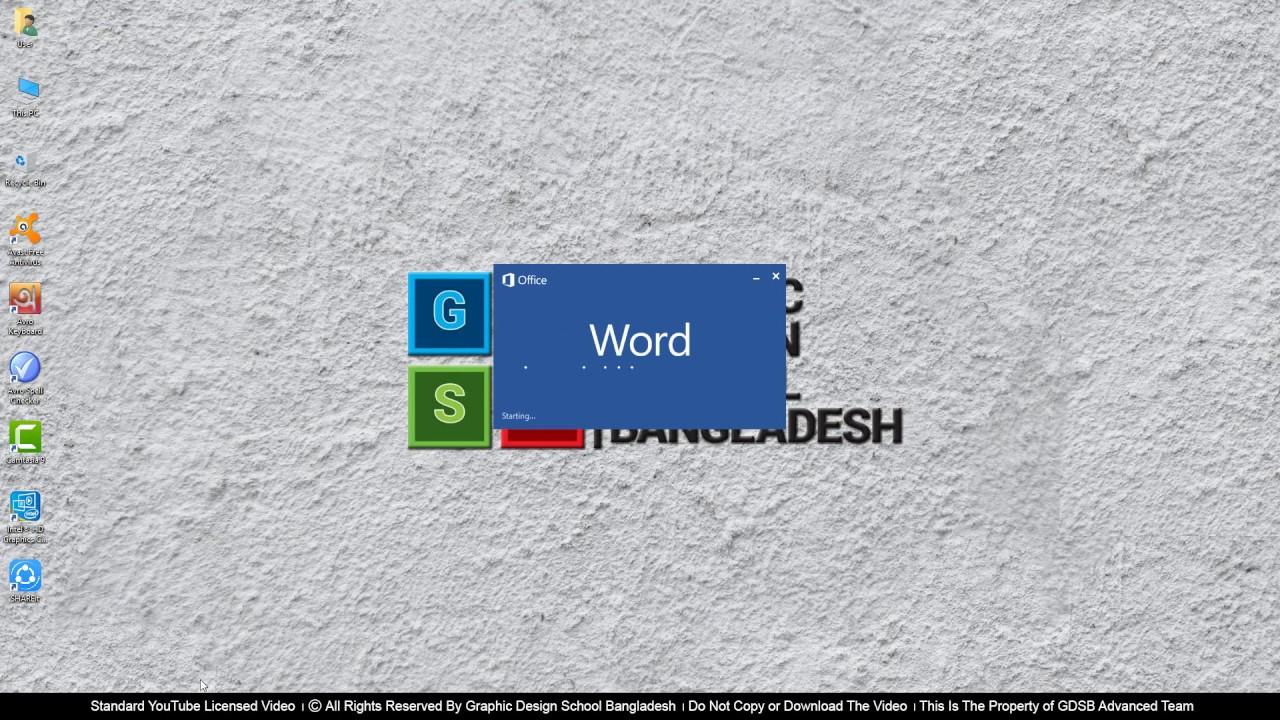 MS Word Class 3 Page Layout Menu