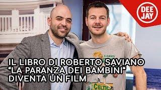 """Roberto Saviano a Catteland presenta il film """"La paranza dei bambini"""""""