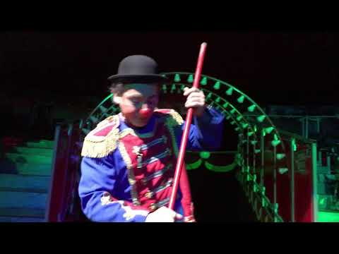 Al circo i scherzi del pagliaccio/clown