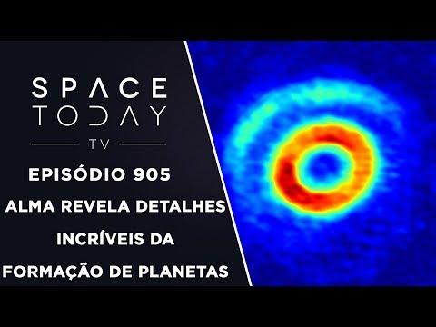 ALMA Revela Detalhes Incríveis da Formação de Planetas - Space Today TV Ep.905