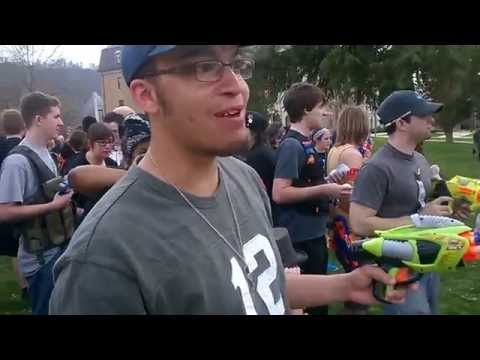 Humans versus Zombies at Shawnee State University