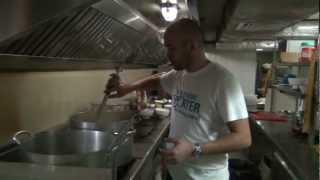 Adam D'Sylva Cooks for Ecruising on the Jahan
