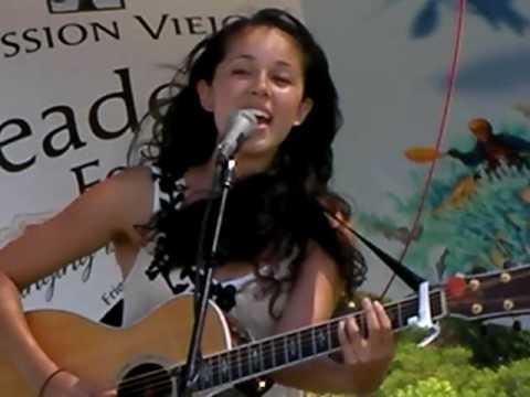 Kina Grannis Valentine Live Acoustic @ Mission Viejo Readers Fest 091209