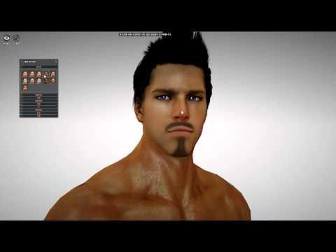Black Desert Online 2nd Beta Warrior Quick Customization HD