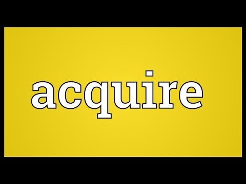 Acquire Meaning