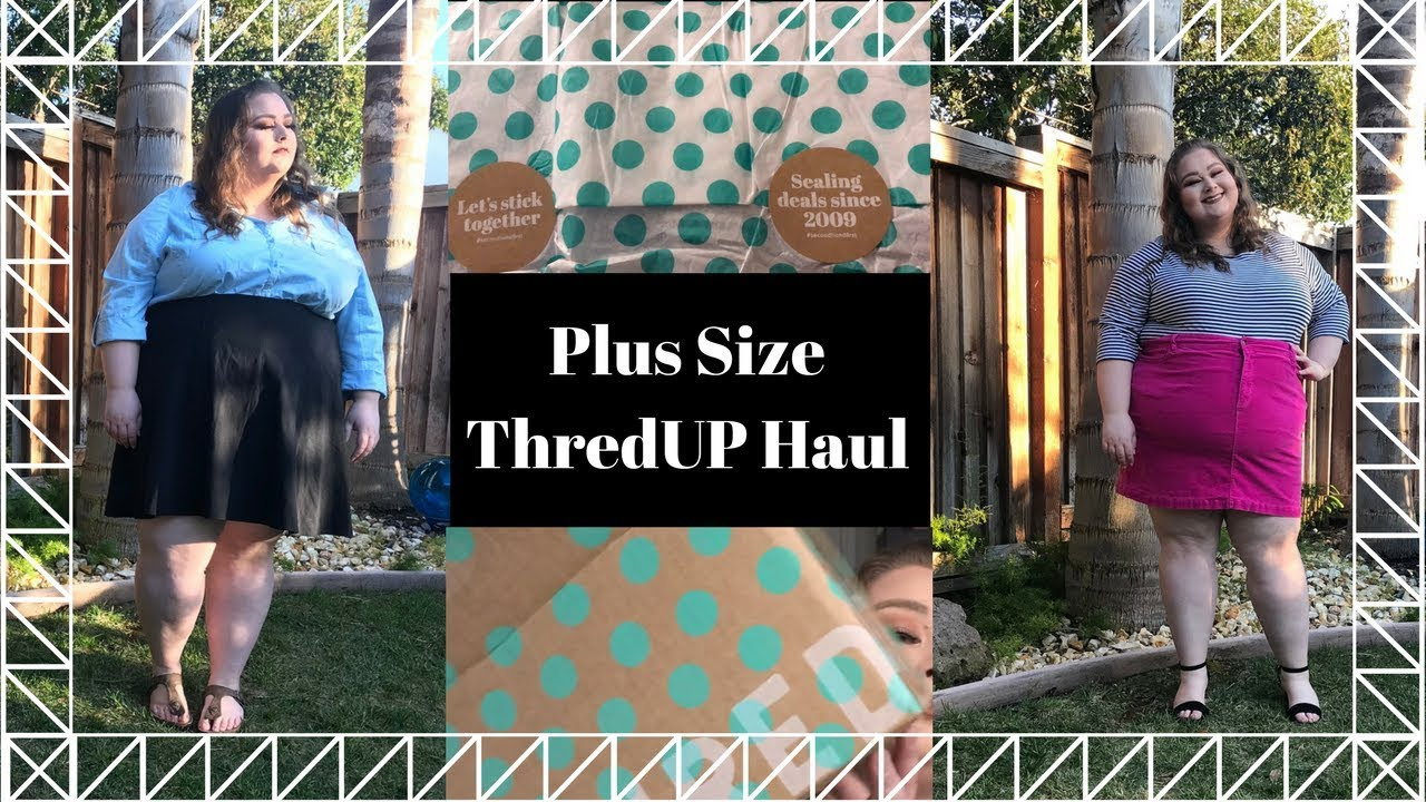 33d796d583d Thrifted Affordable Plus Size ThredUP Haul and Try-On