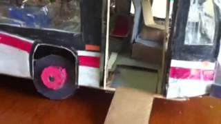 My 2nd nova lfs articulated bus