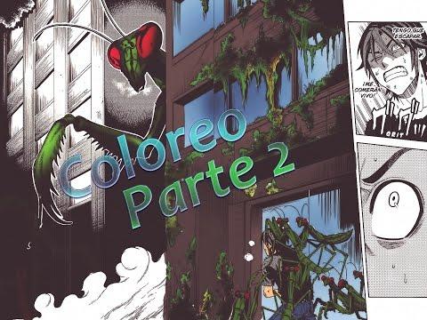 Colorear un manga | Photoshop | Speed Painting | Parte 2