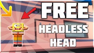 HOW TO GET FREE HEADLESS HEAD! *WORKING!* (2019)- Roblox