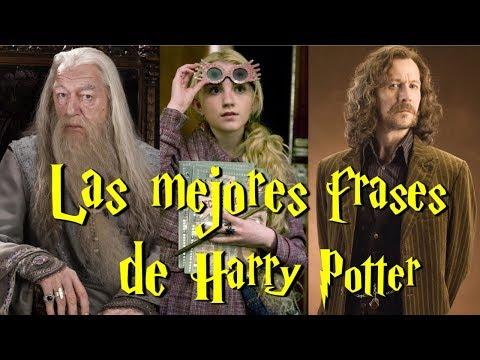 Las Mejores Frases De Harry Potter Youtube