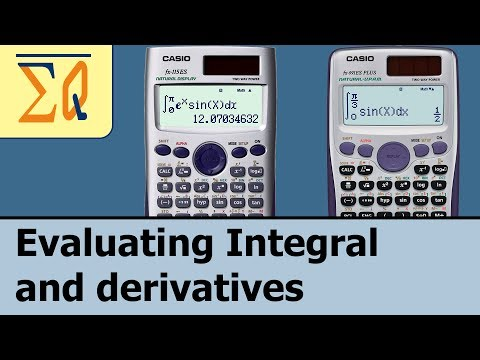 Casio Fx-115es Fx-991es Plus Derivative and Integral