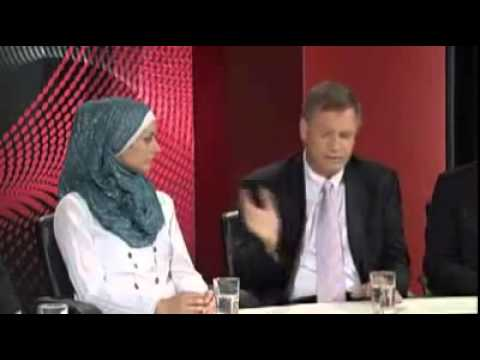 Andrew Bolt challenges Muslim, on Australia