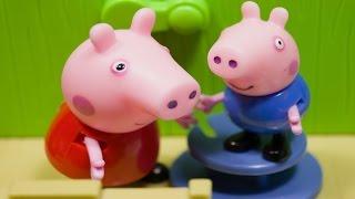 Новые мультики Свинка Пеппа Домик на дереве. Мультфильм для детей 2016