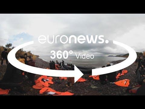 Vidéo 360 : L'expérience d'un migrant à Lesbos