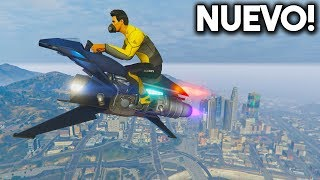 NUEVA MOTO DEL FUTURO VOLADORA! - GTA 5 ONLINE - GTA V ONLINE