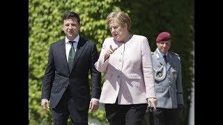 Буде створена нова зона! Зеленський провів термінову розмову з Меркель