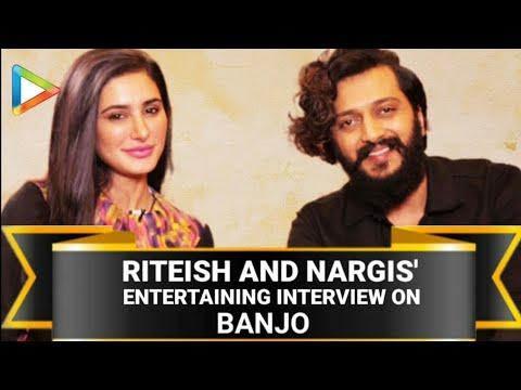 Riteish Deshmukh | Nargis Fakhri | Banjo | Full Interview | Salman Khan | Rapid Fire | Quiz