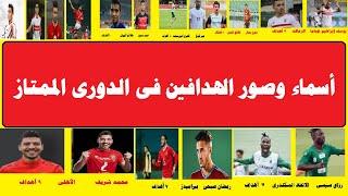 جدول ترتيب هدافى الدوري المصري 2021 بالأسماء والصور