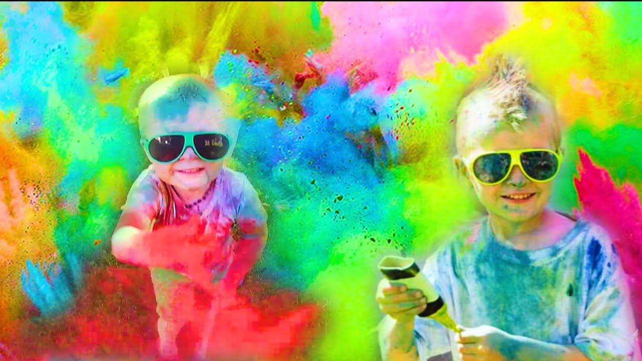 Diy Colour Powder