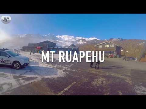 New Zealand ~ TRAVEL ~ Trip to Mt Ruapehu & Taupo
