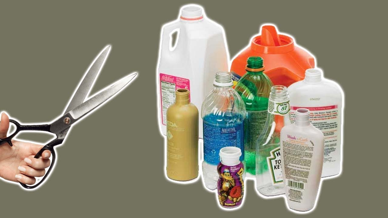 4 Ways To Recycle  Repurpose Plastic Bottles
