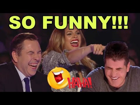 TOP 10 MOST FUNNY & HILARIOUS AUDITIONS ON BRITAINS GOT TALENT OF ALL TIMES!