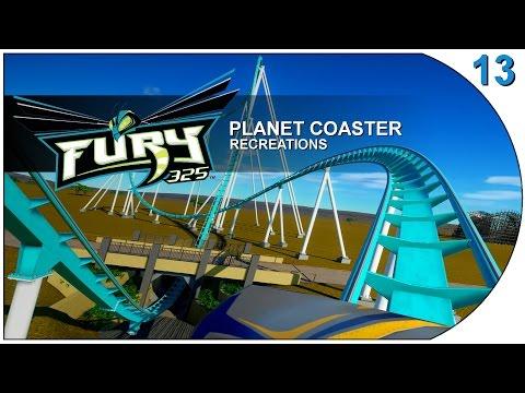Planet Coaster - Recreations 13 - Fury 325 - Carowinds Amusement Park - USA