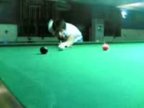 Imbucata sul tavolo da snooker - YouTube