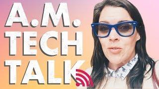 🔴  A.M. Tech Talk  3/12 iPhone Backups iMazing vs. iExplorer