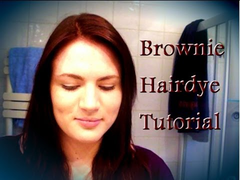 Hairdye tutorial with tips- L'Oreal Brownie 454