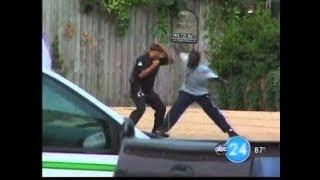 Men Beat up Cop inside of McDonalds