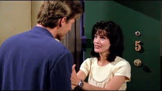 Friends HD - Paul tricks Monica to bed  ( Monica and Paul the Wine guy )