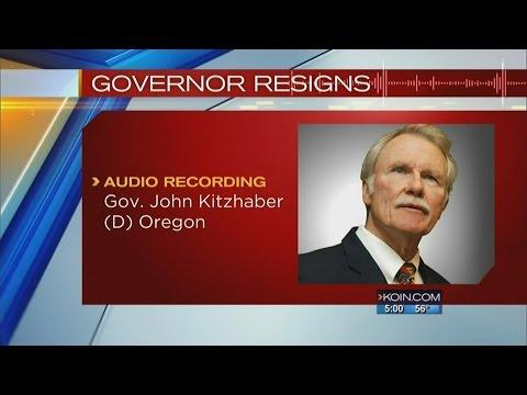 Oregon Governor John Kitzhaber submits resignation