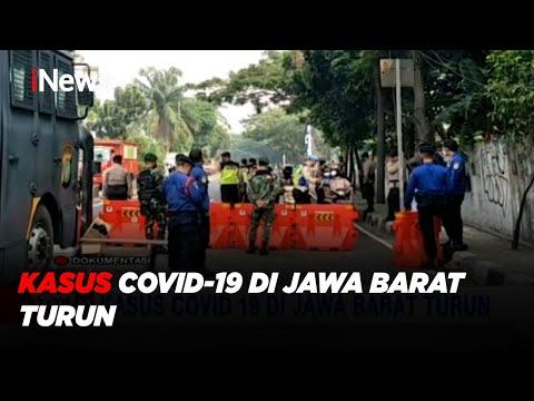 Kasus COVID-19 Di Jawa Barat Turun #iNewsMalam 24/08