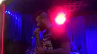 "MC Eleven ""Toast"" (A.M. Breakups Remix) (Live @ Basement Bar, Brooklyn, New York 8/28/15)"
