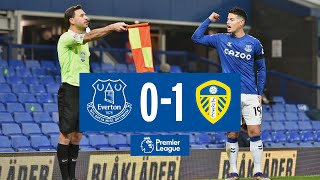 EVERTON 0-1 LEEDS UNITED | PREMIER LEAGUE HIGHLIGHTS