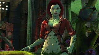 Batman: Arkham City Lockdown - Live Action Poison Ivy Boss Fight Gameplay Video