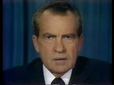 Richard Nixon resigns - August 8, 1974