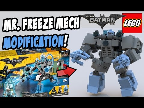Lego Mr. Freeze Ice Attack Modification (Set 70901)! - YouTube