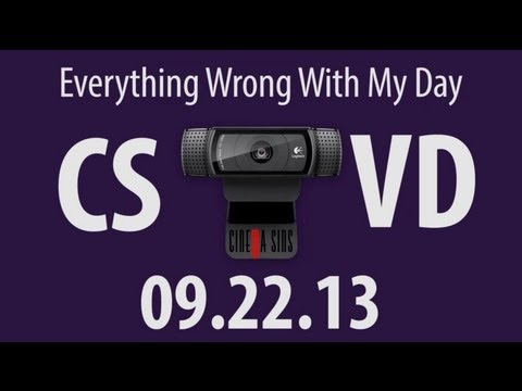 Everything Wrong With My Day - Cinema Sins Video Diary 2