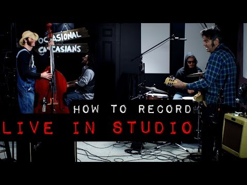 How to Record Live In Studio
