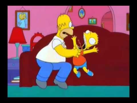Homero Simpson Te desea feliz cumpleaños.flv - YouTube