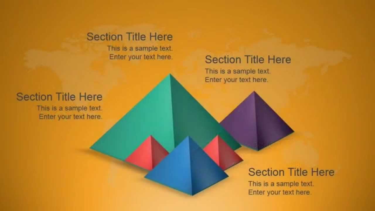 Amazing 3D Shapes Template For PowerPoint