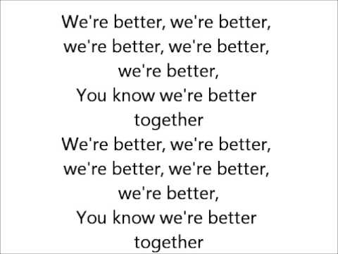 Better Together - Fifth Harmony (Lyrics) || March 6, 2014 ...