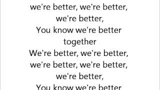 Fifth Harmony - Better Together Acoustic Guitar Instrumental With Lyrics
