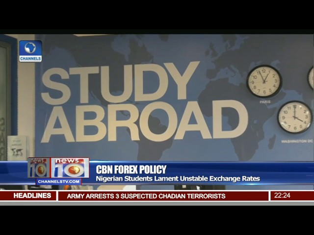 Cbn Forex Policy Nigerian Students In Uk Lament Unle Exchange Rates You