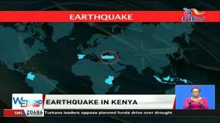 Earthquake in Kenya: Tremors felt in various towns
